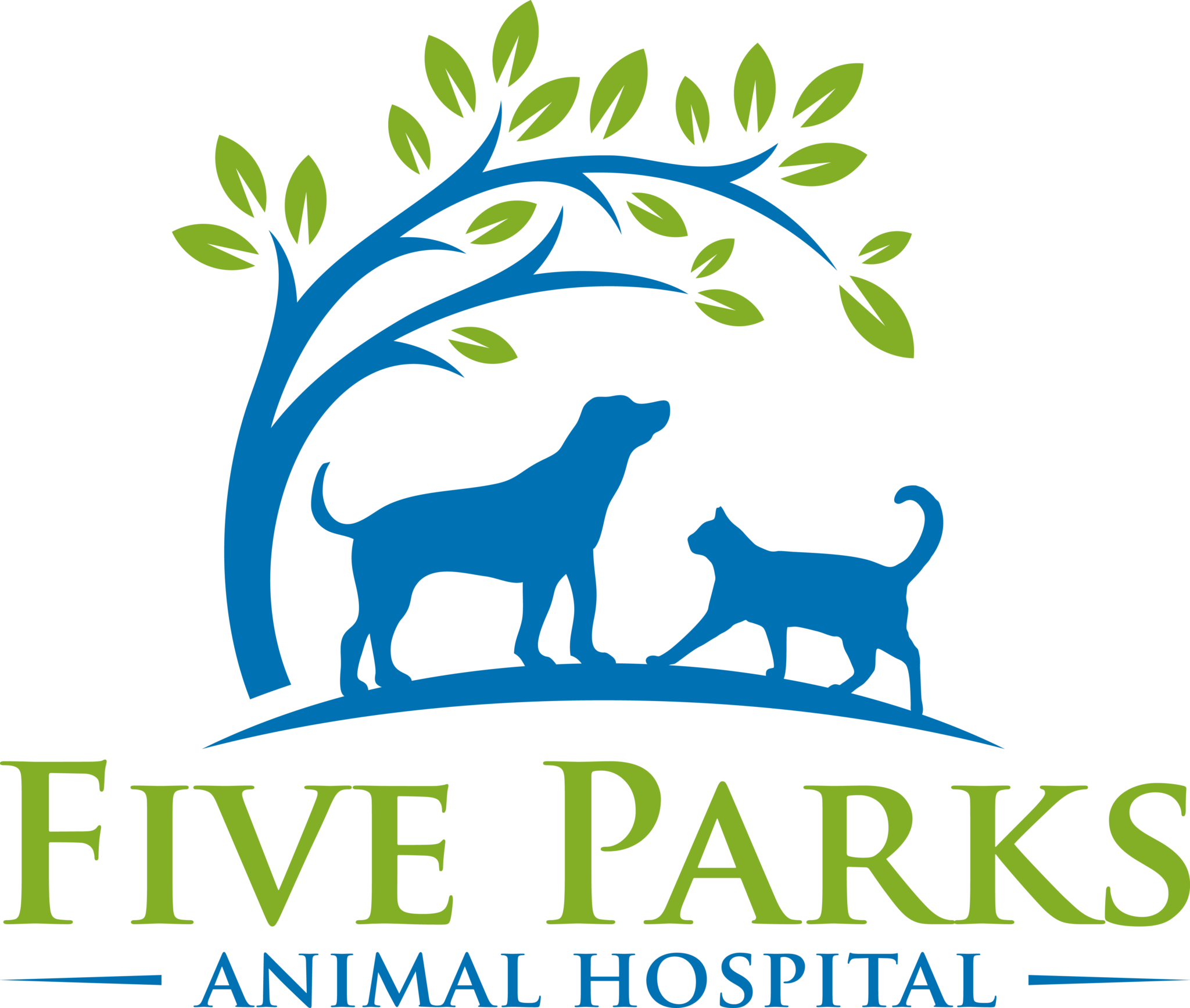 Five Parks Animal Hospital Logo